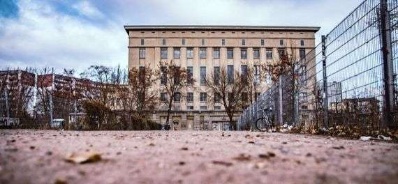 The outside of the Berghain nightclub in Berlin