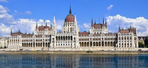 The Hungarian Parliament over the river Danube
