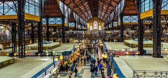 The Great Market in Budapest