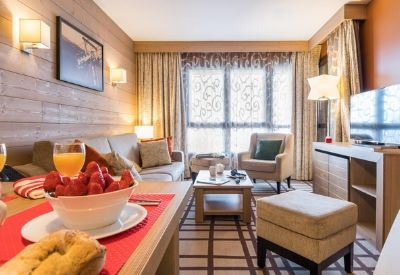 A self-catered ski apartment at Les Terrasses d'Helios in Flaine