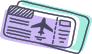 hassle free travel booking icon