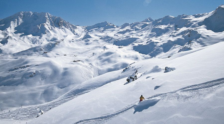 skiing in val thorens off piste
