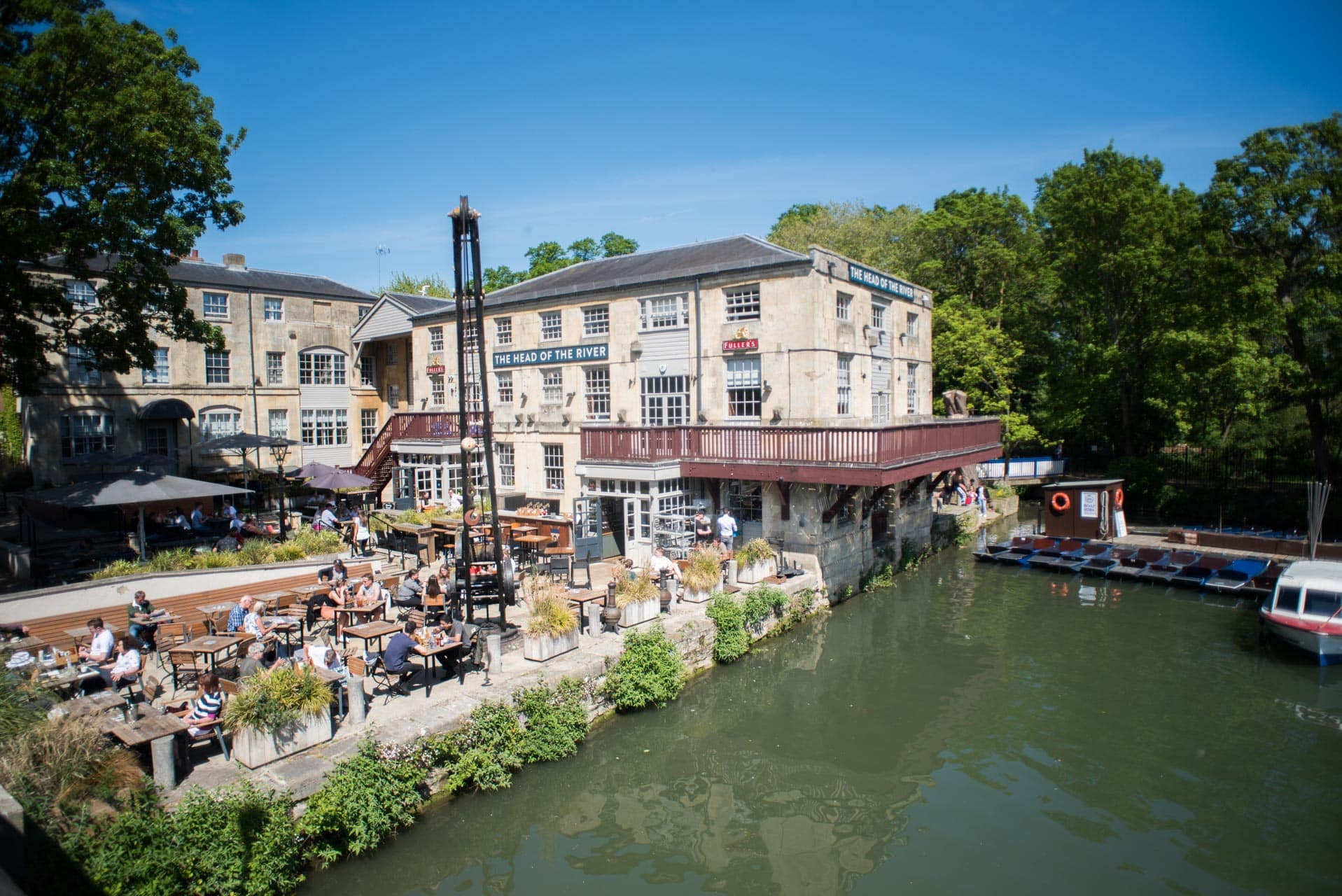 The Head of The River pub in Oxford