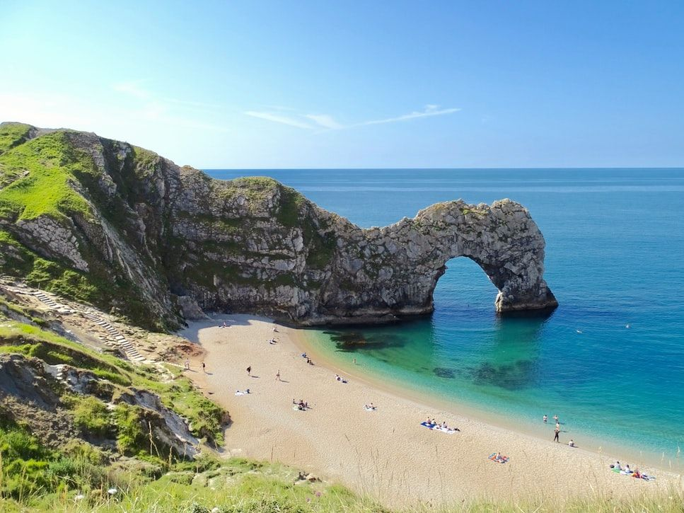 Durdle Door on the Jurassic Coast. Credit: Belinda Fewings